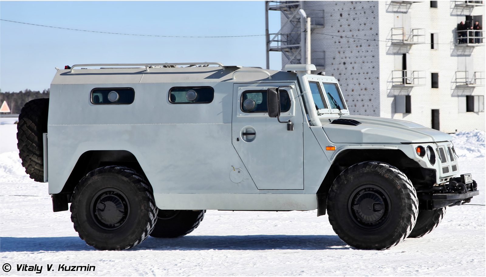 Специальный полицейский автомобиль ГАЗ-233036 СПМ-2