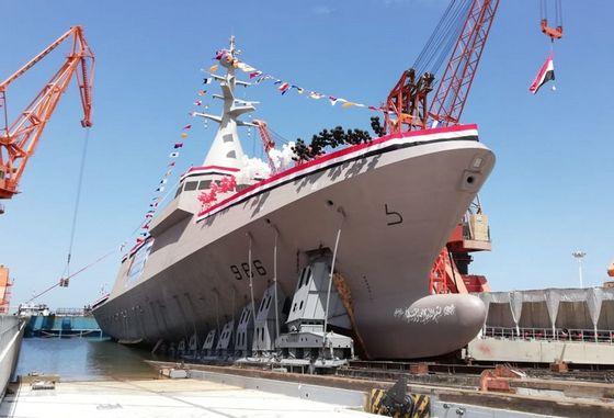 "Спущен на воду четвертый корвет класса ""Говинд-2500"" для ВМС Египта"
