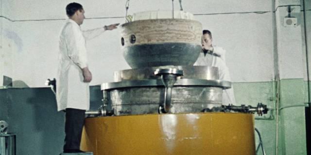 """Спускаемый аппарат автоматической межпланетной станции """"Венера-7"""""""