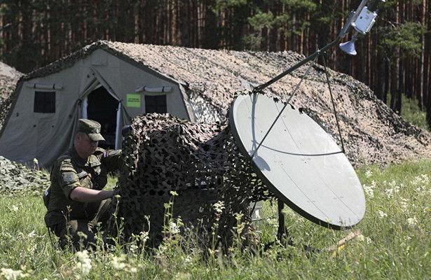 "Спутниковая станция Р-448м ""Аурига"""