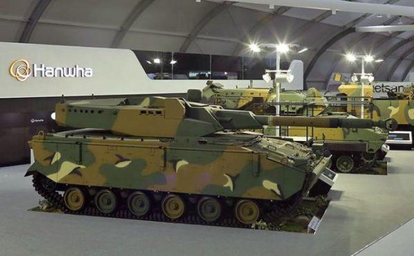 Средний танк K21–105.