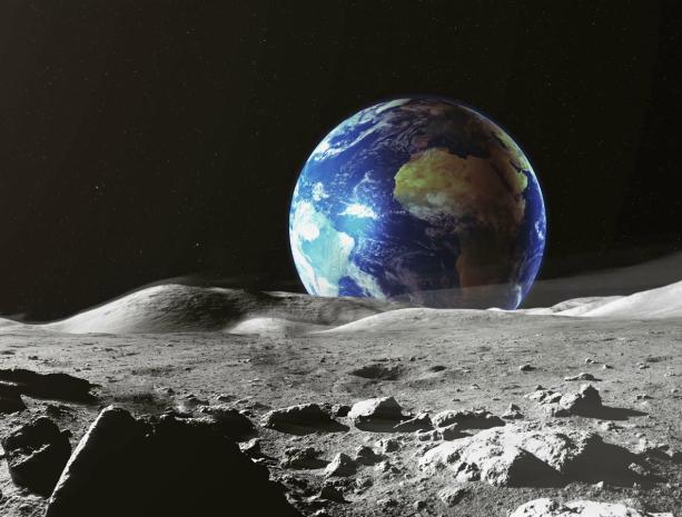 США готовы осваивать с Россией лунную поверхность