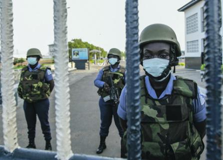 США расширяют свое присутствие на континенте , в том числе за счет обучения местных военных. Фото со страницы USAfricom в Flickr