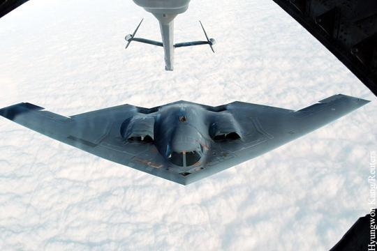 Бомбардировщик B-2.