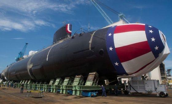 Подлодка USS John Warner SSN-785