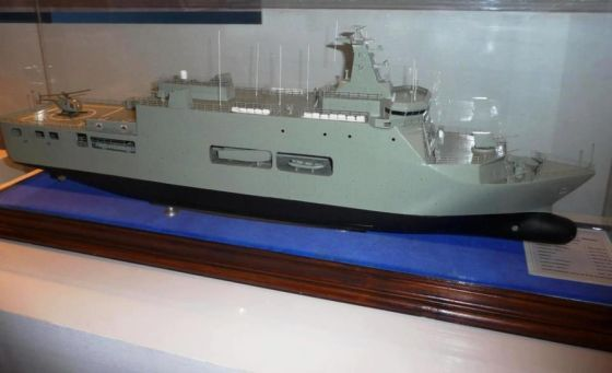 Проект десантного транспорта-дока