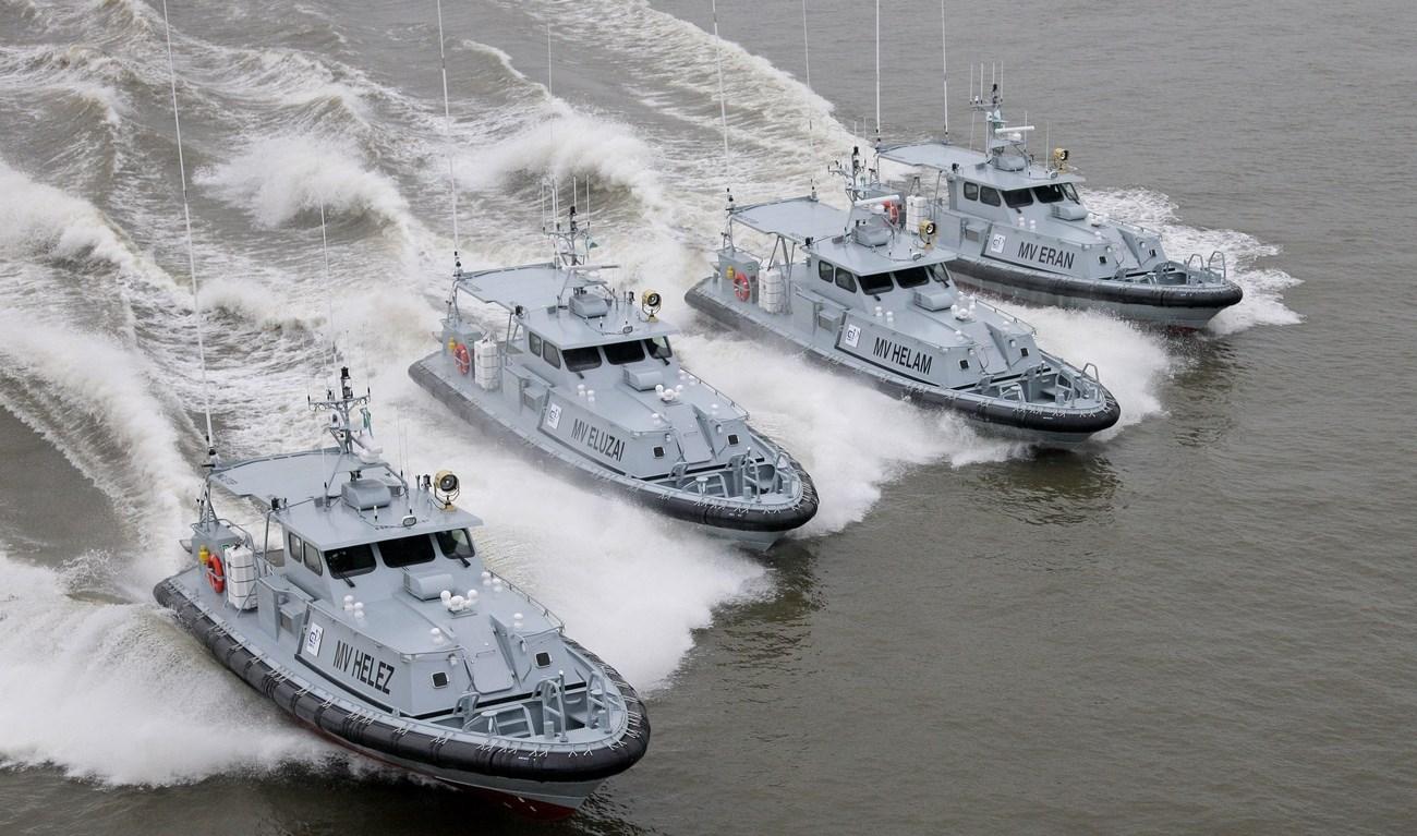 Патрульные катера проекта Stan Patrol 1605 для ВМС Нигерии (с)