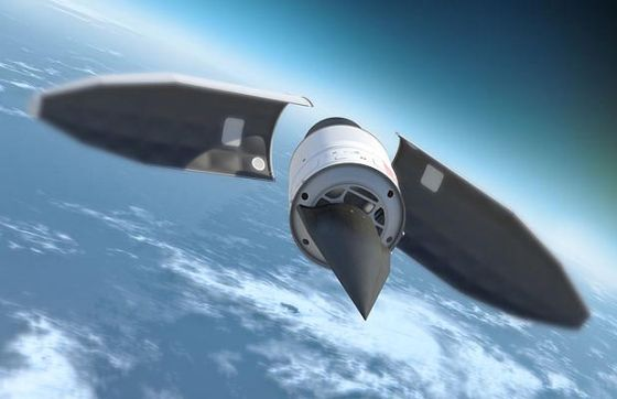 Старт AHW с ракеты-носителя