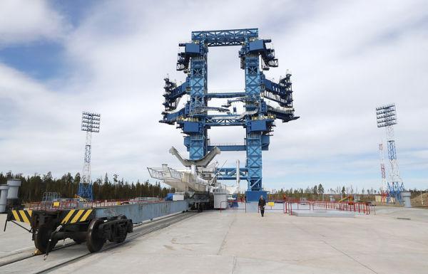 Стартовый комплекс космодрома Плесецк
