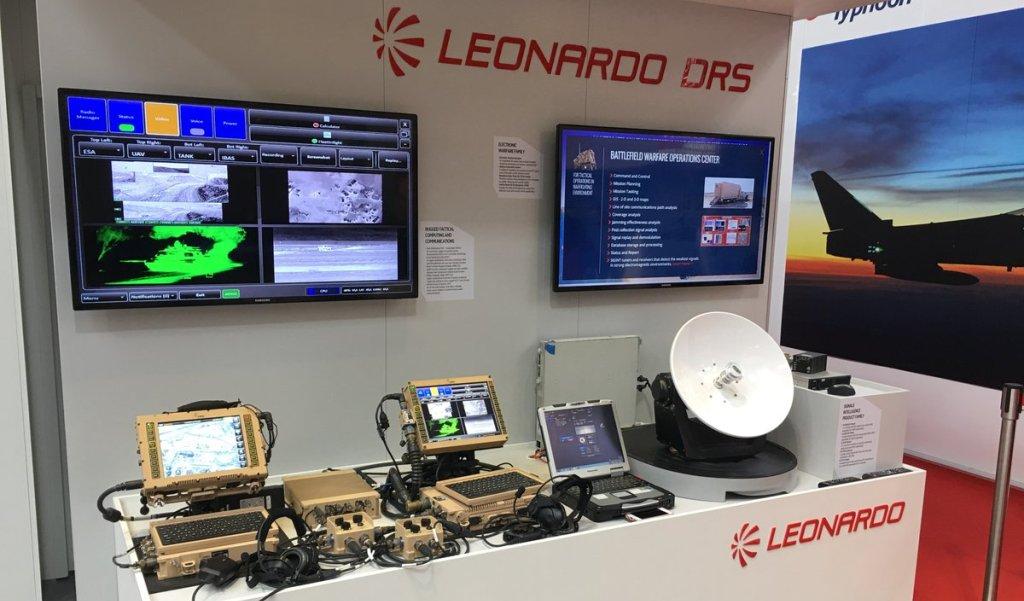 Стенд компании Leonardo DRS.