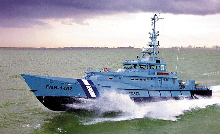 Сторожевой катер FNH-1402 Morazan - один из двух катеров проекта Stan Patrol 4207 ВМС Гондураса.