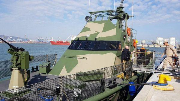 Сторожевой катер GC 196 Matoco типа Shaldag Mk II.