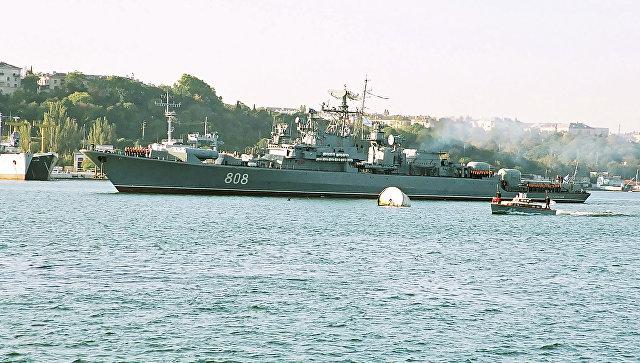 Сторожевой корабль черноморского флота Пытливый. Архивное фото.