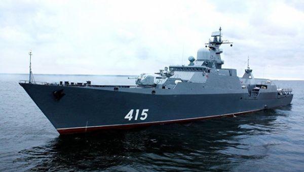 Сторожевой корабль Гепард-3.9. Архивное фото