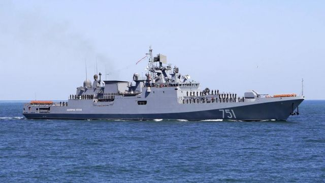 """Сторожевой корабль проекта 11356 """"Адмирал Эссен"""""""