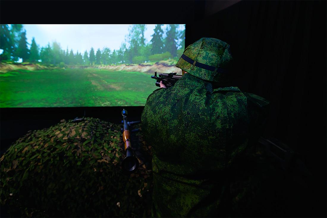 Учебный стрелковый электронный комплекс Группы «Кронштадт».