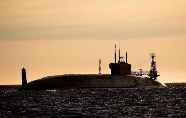 """Стратегическая атомная подводная лодка проекта """"Князь Владимир"""""""