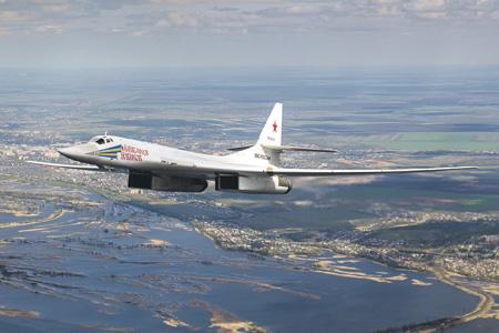 Стратегические ракетоносцы Ту-160М являются неотъемлемой составляющей российской ядерной триады.