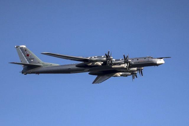 Стратегический бомбардировщик Ту-95МС ВКС России