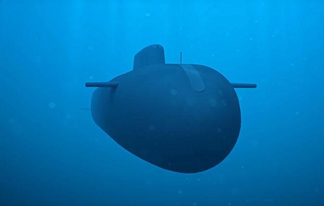 """Стратегический необитаемый подводный аппарат """"Посейдон"""""""