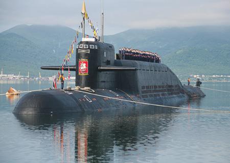 """Стратегический подводный ракетоносец """"Рязань"""""""