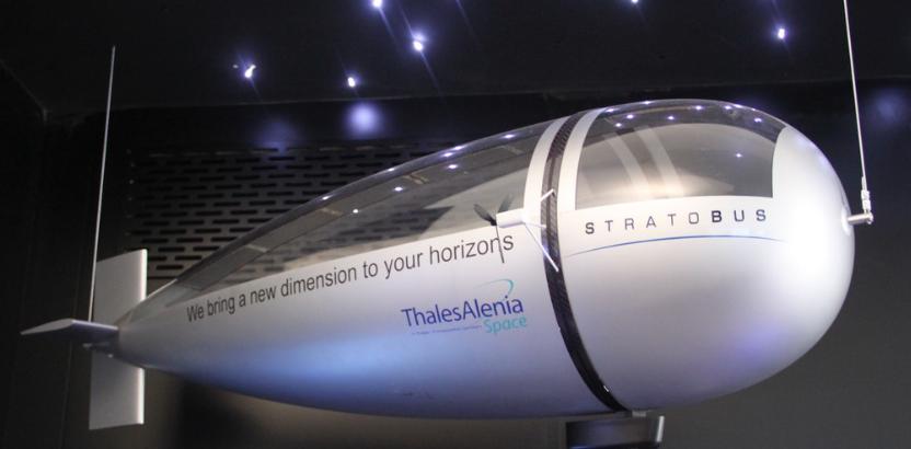 Макет стратостата Stratobus