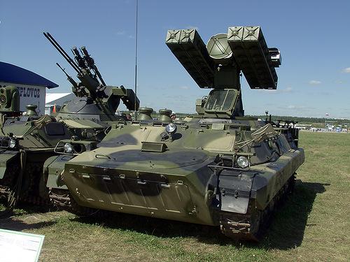 """ЗРК """"Стрела-10М"""""""