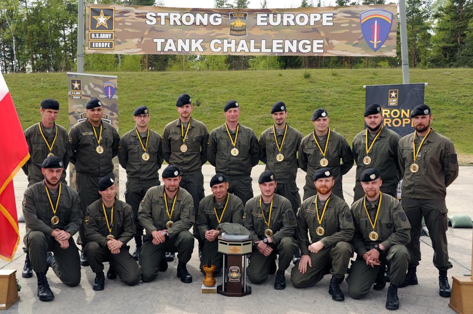 Команда Австрии – победители Strong Europe Tank Challenge-2017.