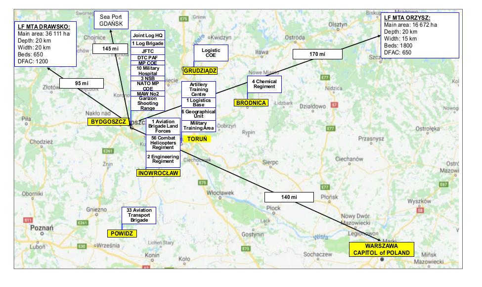 Структура НАТО в Польше.