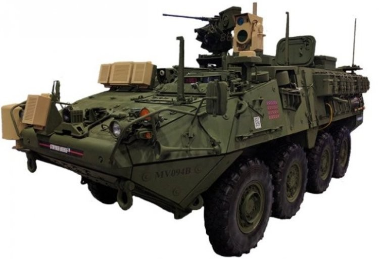 Боевая машина Stryker MEHEL 2.0.