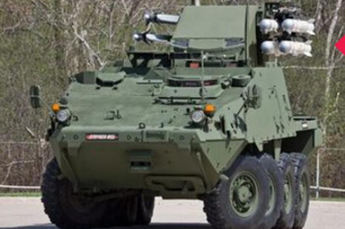 БТР Stryker Mobile SHORAD Launcher (Stryker MSL).