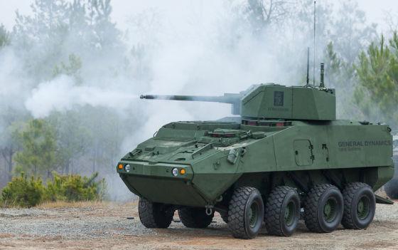 Бронированная машина General Dynamics Stryker