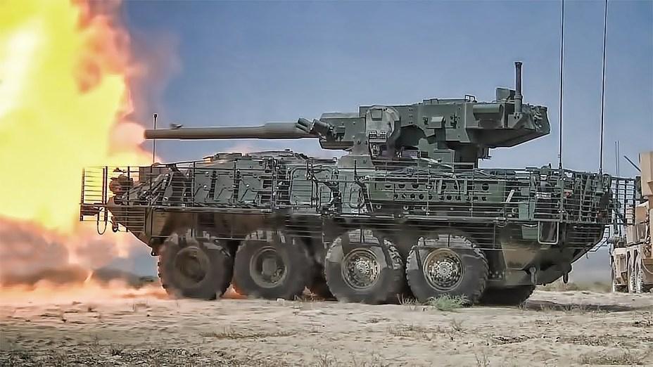 """Stryker M1128 MGS — """"истребитель танков"""" на базе бронетранспортёра Stryker."""