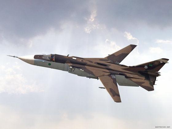Су-24 ВВС Ливии