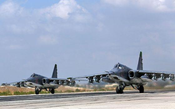 Истребители Су-25