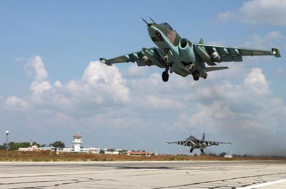 Штурмовики Су-25СМ