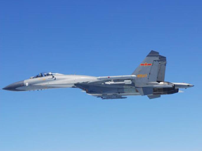 Истребитель Су-27 ВВС НОАК