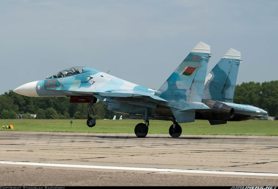 Истребитель Су-27УБМ1