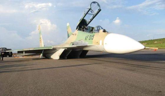 Авария Су-30МК2 в Уганде