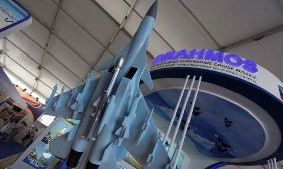 """Ракета """"БраМос"""" на Су-30МКИ"""