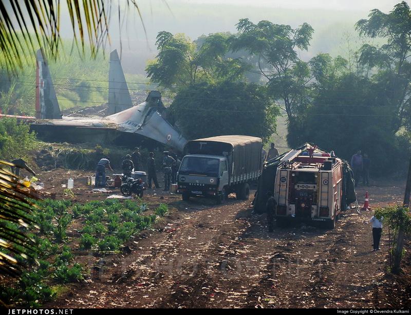 Авария самолета Су-30МКИ ВВС Индии 16 октября 2014 г.