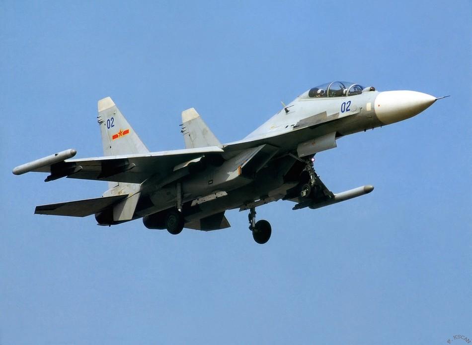Су-30МКК ВВС НОАК.