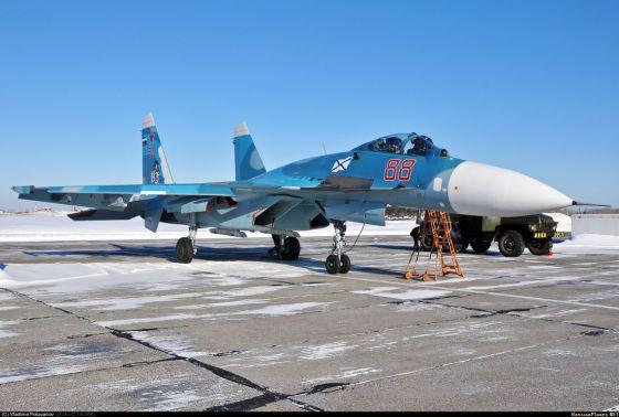 Корабельный истребитель Су-33