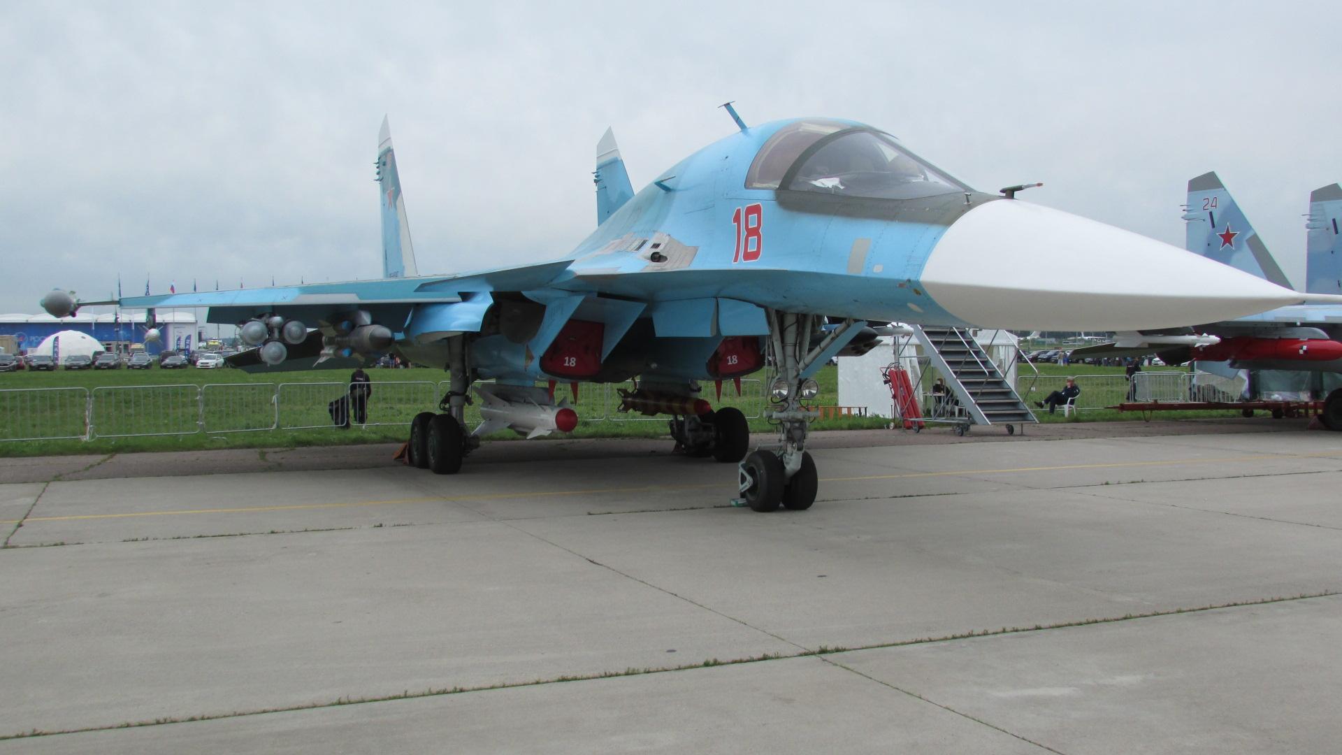 Российский многофункциональный истребитель-бомбардировщик