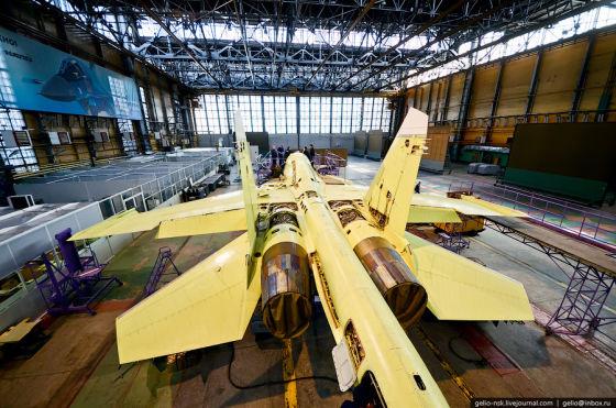 Сборка Су-34