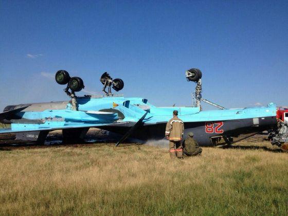 Авария Су-34