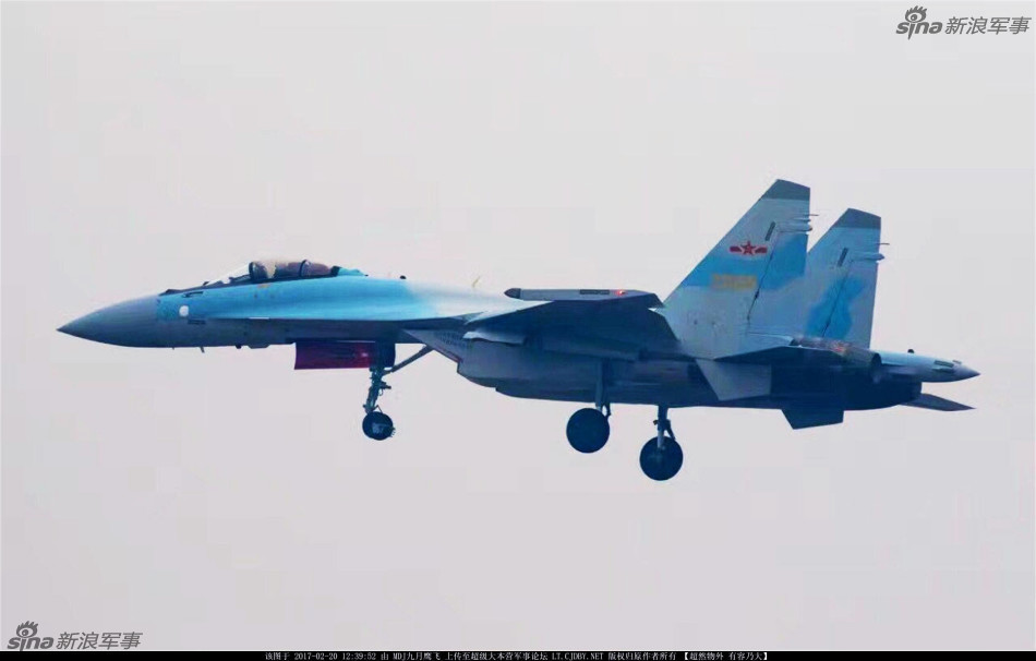 Су-35СК ВВС НОАК