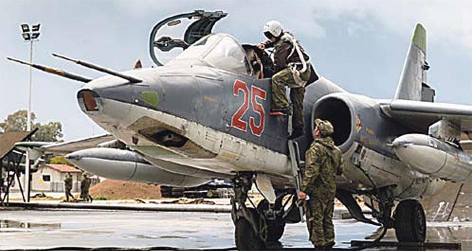 Су-25 ВКС РФ в Сирии.
