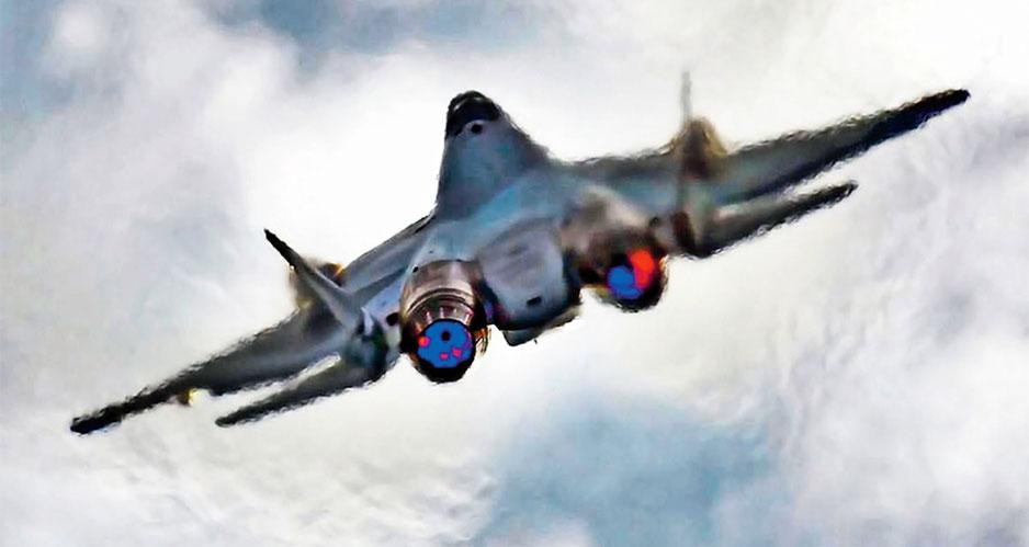 Су-57 (заводской индекс Т-50) — перспективный российский многофункциональный истребитель пятого поколения.