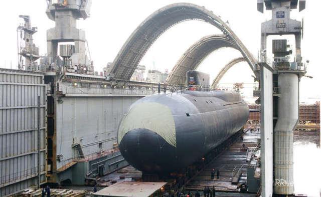 Субмарина проекта 955 «Борей» на «Севмаше»